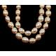 Grado de hebras de perlas de agua dulce cultivadas naturalesA23WE011-2