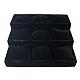 ベルベット枕のジュエリーブレスレットウォッチ表示BDIS-A001-2-1