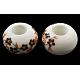 Handmade Porcelain European BeadsCF224Y-1
