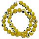 Chapelets de perles de Murano italiennes manuellesD217-6mm-5-1
