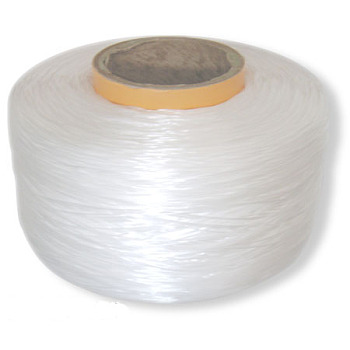 Flat Elastic Crystal String, Elastic Beading Thread, for Stretch Bracelet Making, White, 0.8mm thick, about 4050m/roll