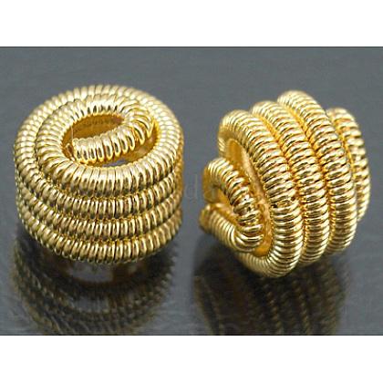 Brass Spring BeadsEC104-2NFG-1