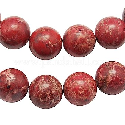 Synthetic Imperial Jasper Beads StrandsG-H014-3-3-1