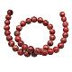 Synthetic Imperial Jasper Beads StrandsG-H014-3-3-2