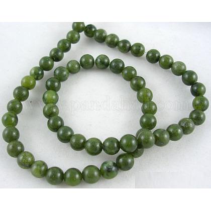 Hebra redonda de piedras preciosas naturales de 15~16 pulgadaGSR063-1