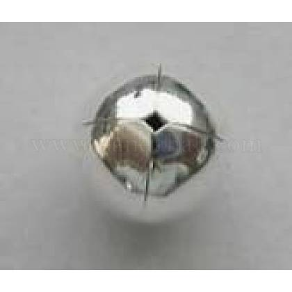 Sterling Silver Bead CapsH180-4-1