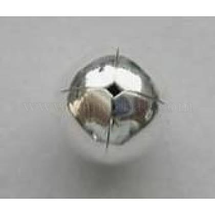 Tapas de abalorios de plata de leyH180-7-1
