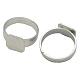 Adjustable Brass Pad Ring ComponentsJ2CKT041-1