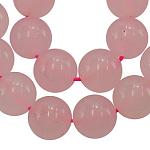 Окрашенные бусины пряди природного нефрита, имитация розового кварца, круглые, диаметром около 6 мм , отверстие : 0.8 мм, около 67 шт / нитка, 16 дюйм