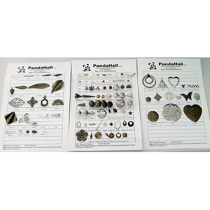 Free Jewelry Findings Sample CardsJFSC-1