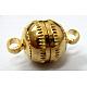 Brass Magnetic ClaspsMC007-1