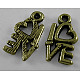 For Valentine's Day Tibetan Style Alloy PendantsMLF0299Y-1