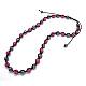 Fashion Polymer Clay Rhinestone NecklacesNJEW-Q172-4-1