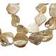 Hilo de abalorios de concha hecha a manoPBB471-1-1