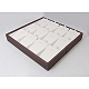Cajas de presentación de cuero sintético colgantePDIS-A001-4-2