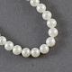 Hebras de perlas de agua dulce cultivadas naturalesPEAR-S001-3~4mm-3-1
