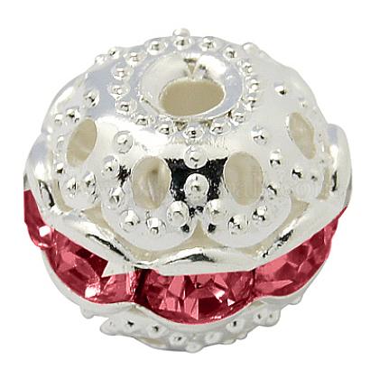 Perles en laiton de strassRB-A011-10mm-27S-1