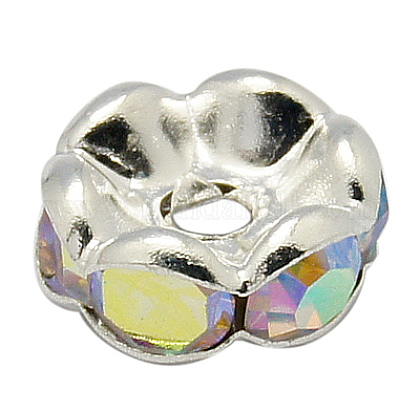 Rhinestone Spacer Beads RB-H035-31-1