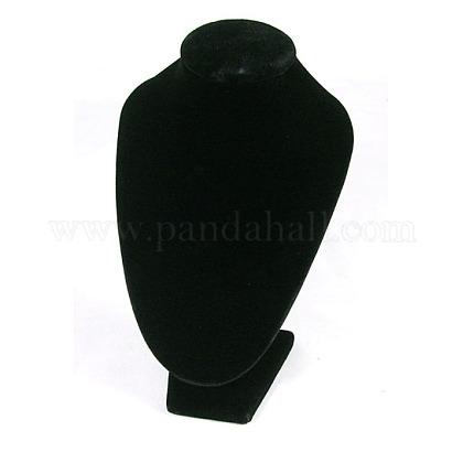 Black Velvet Small Pedestal DisplayS011-1