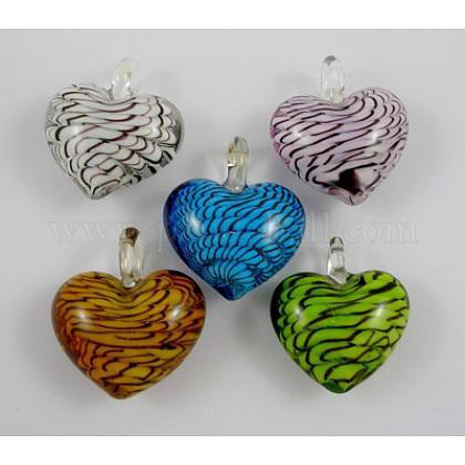 Handmade Lampwork Glass PendantsSLSP152-1