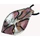 Handmade Silver Foil Glass Big PendantsSLSP306J-4-1
