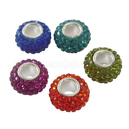 Austrian Crystal European BeadsSS017-M-1