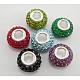 Crystal European Style BeadsSS021-1