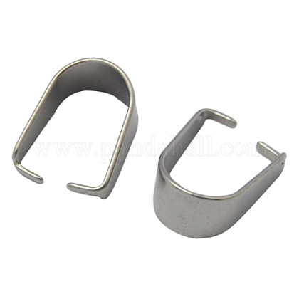304 Stainless Steel Snap on BailsSTAS-Q007-1-1