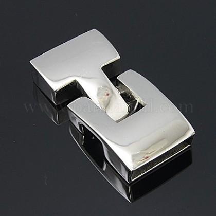 滑らかな304ステンレス製のスナップロッククラスプSTAS-Q162-1