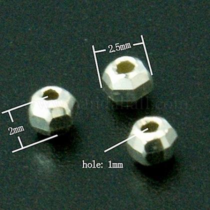 Perles séparateurs en argent sterlingSTER-A010-14-1