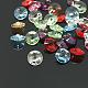Austrian Crystal Pendants, 6428/6200, Xilion Rivoli, Mixed Color, 8mm