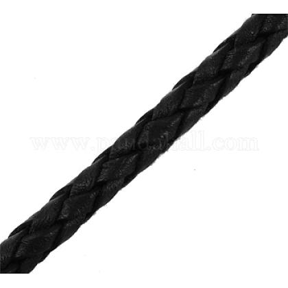 Braided Leather CordVL3mm-1-1