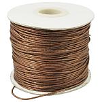 Корейские вощеные полиэфирные шнуры, шарик шнур, цвет охры, 1.5 мм, Около 185 ярдов / рулон