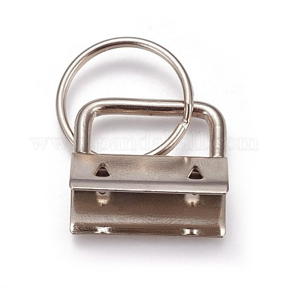 Electroplate Iron Split Key Rings IFIN-WH0044-01B-P-1