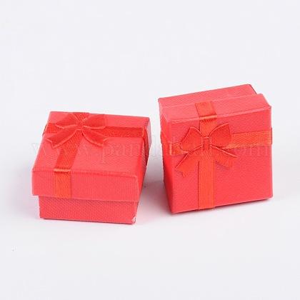 Boîtes à bagues en cartonX-CBOX-G003-08B-1