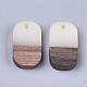 Colgantes de resina y madera de nogalRESI-S358-41A-2