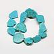 Nuggets Natural Howlite Beads StrandsX-G-N0132-25-2