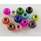 Spray Painted Acrylic BeadsX-PB9280-1