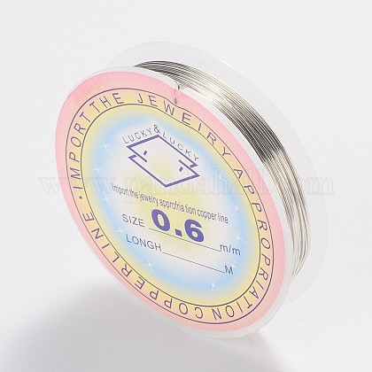 Copper Jewelry WireCWIR-CW0.6mm-06-1