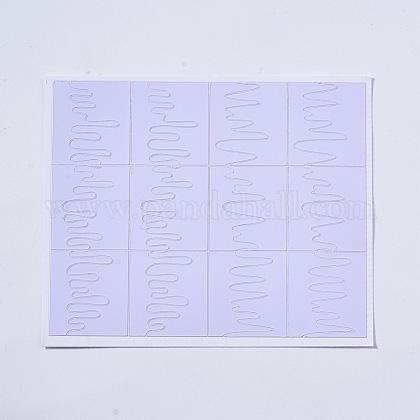 Selbstklebender NagelkunstaufkleberAJEW-TA0003-U07-1