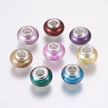 Handmade Shell Pearl European BeadsBSHE-K009-A-1