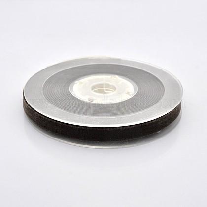 Ruban de velours en polyester pour emballage de cadeaux et décoration de festivalSRIB-M001-10mm-850-1