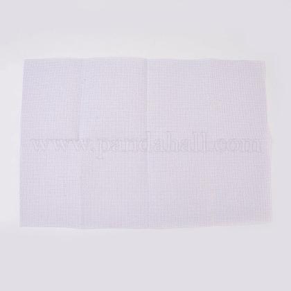 11ctクロスステッチキャンバス生地刺繍生地DIY-WH0063-02-1