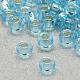 Perles de rocaille en verre transparent fgb® 6/0SEED-Q007-4mm-F47-1