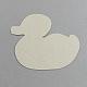 Утка поделок hama бисер бусины картонные шаблоныX-DIY-S002-26A-2