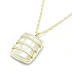 925 Sterling Silver Pendant NecklacesNJEW-F246-09LG-2