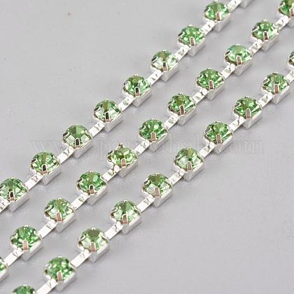 Cadenas de strass Diamante de imitación de bronceCHC-S12-02S-1