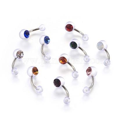 Acrylic Body JewelryAJEW-P071-C-1