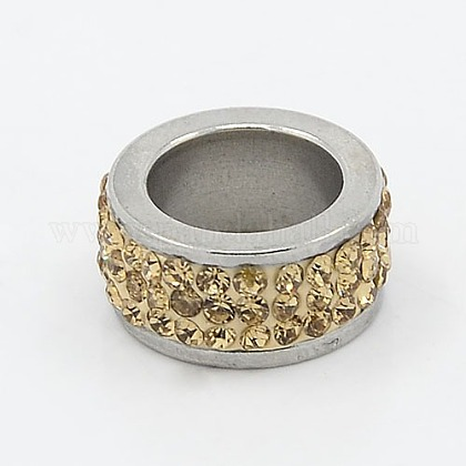 304 abalorios de columna de acero inoxidableRB-I065-04-1