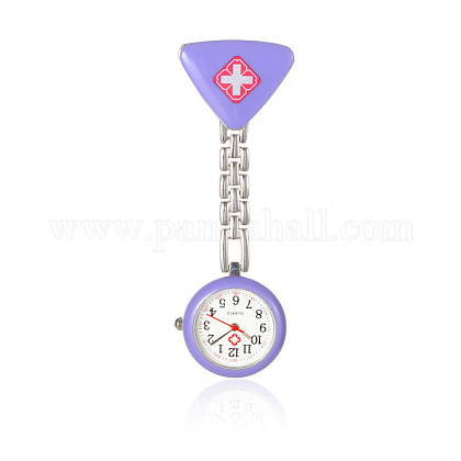 Alloy Red Cross Nurse Table Pocket WatchesWACH-N007-04C-1